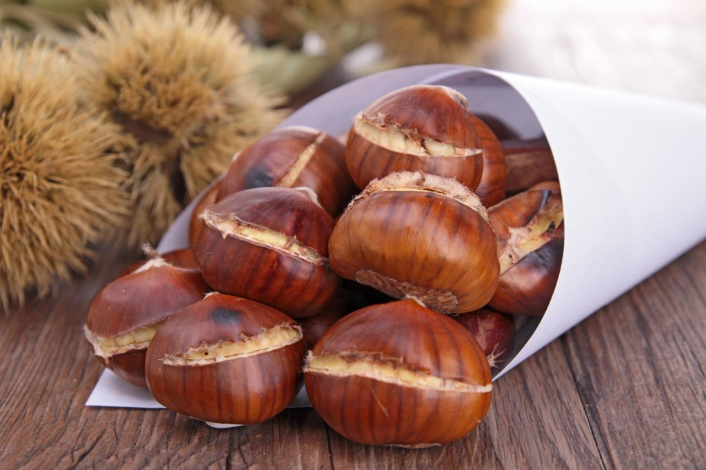 grilled chestnut