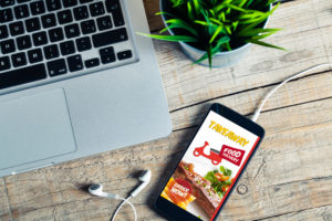 food dilevry ordine online